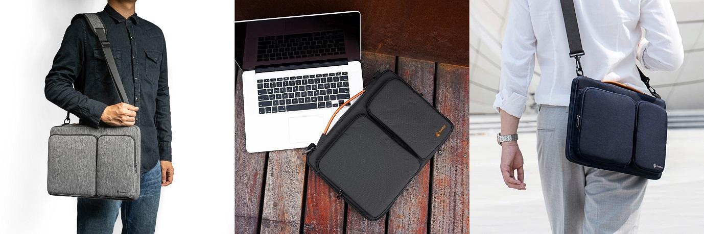 brašna tomtoc s MacBookem